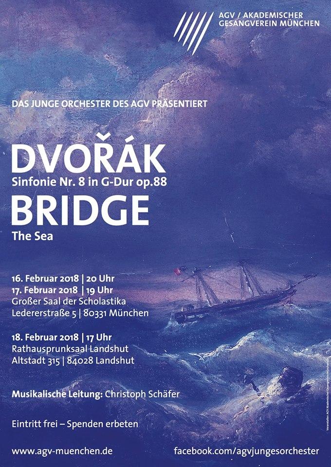 Junges Orchester: Dvorák-Bridge