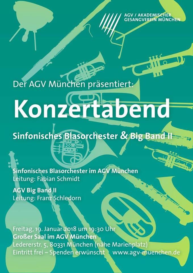 Konzertabend Blasorchester & Big Band II