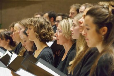 Junger Chor bei der Landesfeier des Volksbund im Herkulessaal München