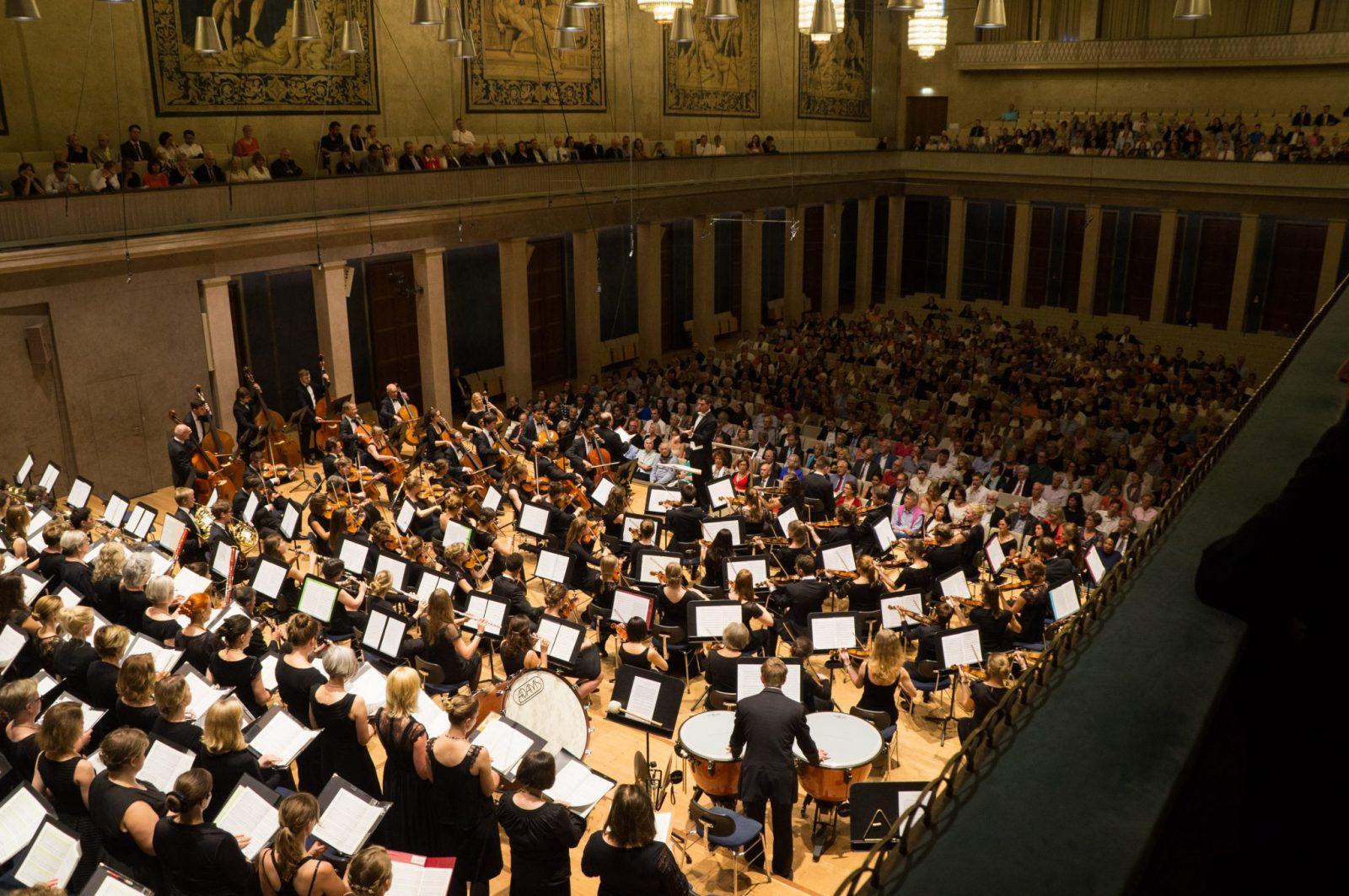 Ensemblearbeit im Münchner Herkulessaal