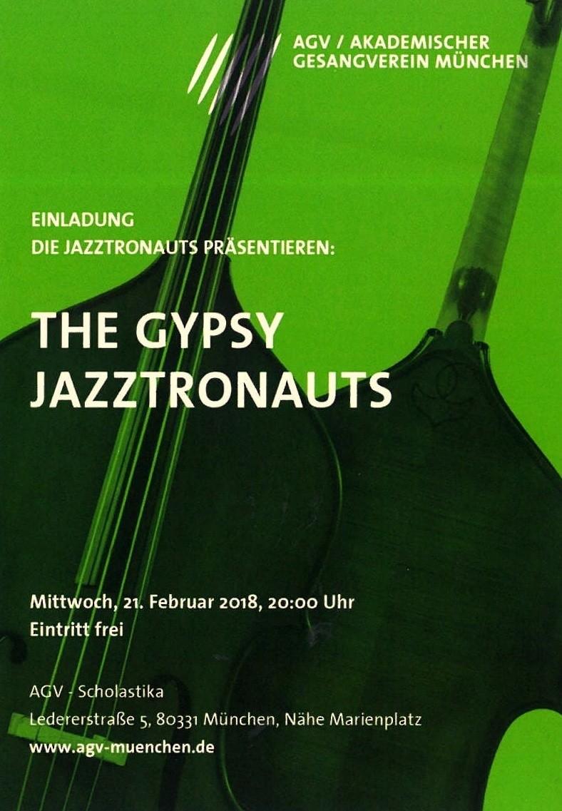 The Gypsy Jazztronauts