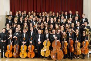 Gruppenbild des Jungen Orchester München