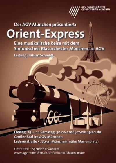 Orient-Express Sinfonisches Blasorchester München im AGV