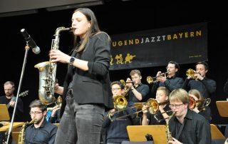 Saxophon Solistin Jugend Jazzt 2019