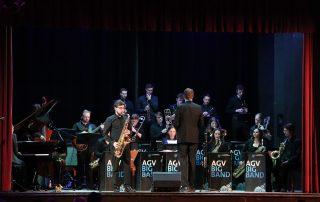 Saxophon Solist Swingin' Scholastika 2019