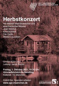 Herbstkonzert des Großen AGV Chors